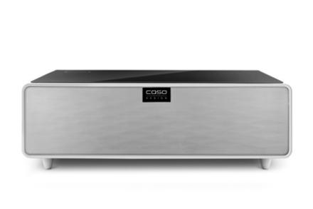 Caso Sound&Cool - Loungebord med Soundbar og Dobbel Køleskuffe