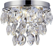 Isobel Taklampa - Krom/Kristall