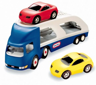 Little Tikes Autotransporter med 2 biler