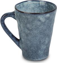 Dreja mugg 6 st i ett Set - Blå