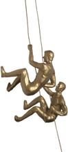Klättrande Gymnaster Guld Par