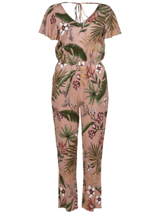 ONLY Printed Jumpsuit Women Pink