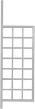 Hov spaljé (grå) Grå 200 x 64 cm