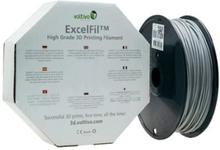 Voltivo ExcelFil 3D Druck Filament, PLA, 1,75mm - aschgrau