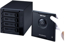 BUFFALO DriveStation Quad USB 3.0 - Harddiskarray - 16 TB - 4 brønner (SATA-300) - HDD 4 TB x 4 - USB 3.0 (ekstern)