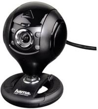 "Hama ""Spy Protect"" HD Webcam - Webbkamera - färg - 1,3 MP - 1280 x 720 - ljud - USB 2.0"