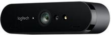 Logitech BRIO STREAM - Webbkamera - färg - 4096 x 2160 - 1080p, 4K - ljud - USB