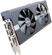 Sapphire NITRO+ RX 580 - Grafikkort - Radeon RX 580 - 4 GB GDDR5 - PCIe 3.0 x16 - DVI, 2 x HDMI, 2 x DisplayPort - begränsad version