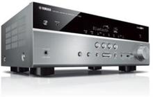 Yamaha AV-Receiver RX-V485 Titanium, 5.1 kanaler, Surround, 115 W, 160 W, 130 W, 110 W