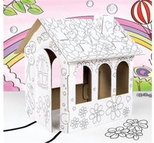 Dukkehus i pap (Mal selv)