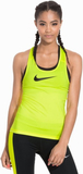 Nike Nike Pro Cool Tank Linne Tight Fit Volt