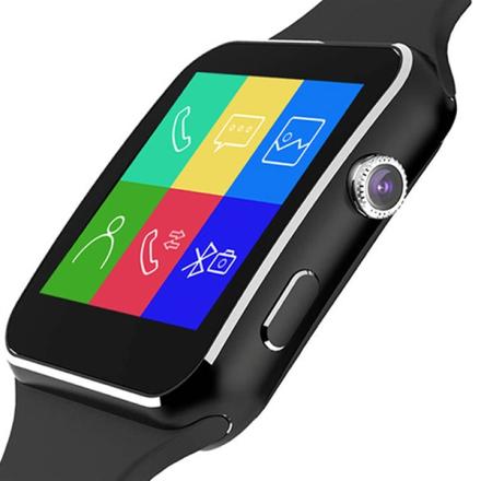 Bluetooth Älykello Touchscreen + Kamera