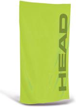 Head Sport Microfiber Pyyhe, lime 2020 Matkapyyhkeet