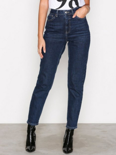 Topshop Topshop MDT Mom Jeans L32 Straight Stone