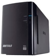 BUFFALO DriveStation Duo USB 3.0 - Harddiskarray - 12 TB - 2 brønner (SATA-300) - HDD 6 TB x 2 - USB 3.0 (ekstern)
