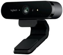 Logitech BRIO 4K Ultra HD webcam - Nettkamera - farge - 4096 x 2160 - lyd - USB