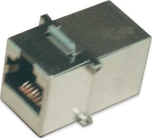 "Intellinet ""Keystone Coupler, Cat5e, FTP, for 19"""" panels"" - Trapetskopplare - RJ-45 (hona) till RJ-45 (hona) - skärmad"