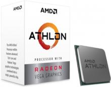 Athlon 3000G CPU - 2 kerner 3.5 GHz - AM4 - Boxed (PIB - med køler)