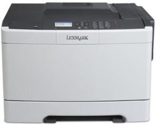 Lexmark CS410dn - Skriver - farge - Dupleks - laser - A4/Legal - 1200 x 1200 dpi - inntil 30 spm (mono) / inntil 30 spm (farge) - kapasitet: 250 ark
