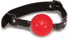 Sex & Mischief - Solid gagball röd