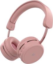 KitSound Metro X Bluetooth Headset - Rosa