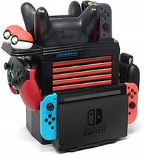 Säilytys- ja latausteline Nintendo switch