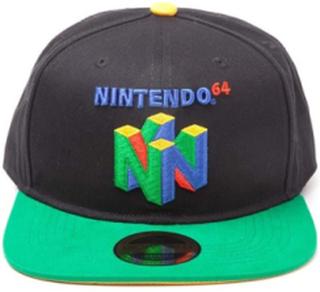 - N64 Logo Snapback - Kasket One-size