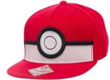 - Pokémon - 3D Poké ball Snapback - Keps One-size