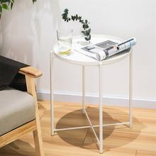 Tarjotinpöytä 42,5cm Valkoinen