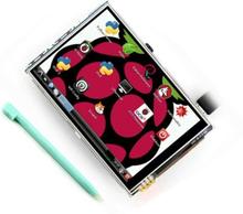 "LCD Touchscreen Skærm 3,5"" Raspberry Pi"