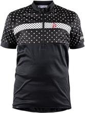 Craft Bike Jersey Junior Black/White