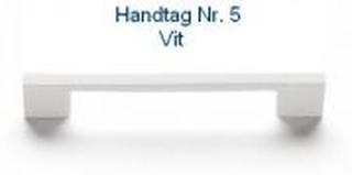 Svedbergs Handtag Nr 2 - 5 128 Svedbergs handtag Nr 5 Vit