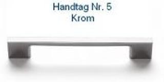 Svedbergs Handtag Nr 2 - 5 128 Krom Svedbergs handtag Nr 5