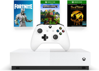 Xbox One S 1 TB All Digital Edition (2st spel & Fortnite Cosmetic)