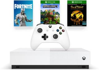 Xbox One S 1 TB All Digital Edition (2st spel & Fortnite Cosmetic)