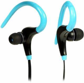 Universal In-ear bluetooth sports stereo earphone- Blue