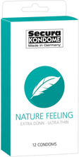 Secura: Nature Feeling, Kondomer, 12-pack