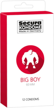 Secura: Big Boy 60 mm, Kondomer, 12-pack