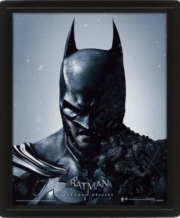 Batman innrammet 3D bilde