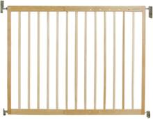 Stilren trä Säkerhetsgrind passar öppning 62-106cm - barngrind