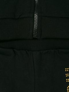 Moschino Kids embellished tracksuit set - Black