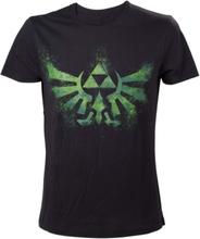 - Green Zelda logo t-shirt S - T-paita S