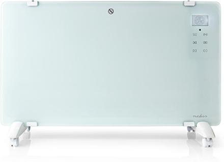 Med LCD-display Konvektionselement 2000W 230V