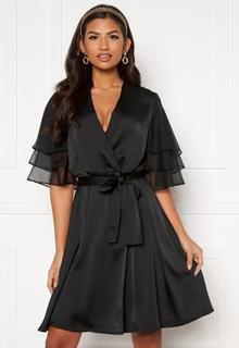 Y.A.S Abigail SS Midi Dress Black S