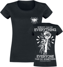 Hardcore Help Foundation - Do Something! -T-skjorte - svart