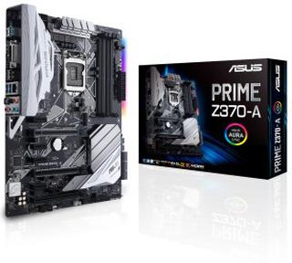 Asus prime z370-a moderkort, atx, z370, 1151
