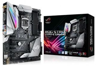 Asus rog strix z370-e gaming moderkort, atx, z370, 1151
