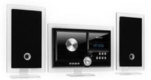 Stereo Sonic DAB+ stereoanläggning, DAB+, CD-player, USB, BT, svart