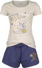 Peter Pan - Never Grow Up -Pyjamas - krem-blå