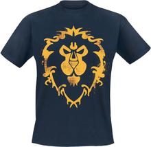 World Of Warcraft - Allianz -T-skjorte - blå
